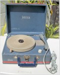 Decca Portable Record Player (about 1960)