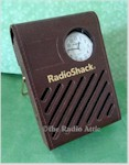 Radio Shack Transistor Radio with Wristwatch