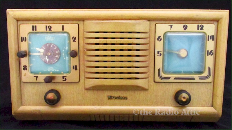 Firestone 4A110 Clock Radio (1952)