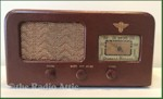 Cloth-/Leather-Covered Table Radios