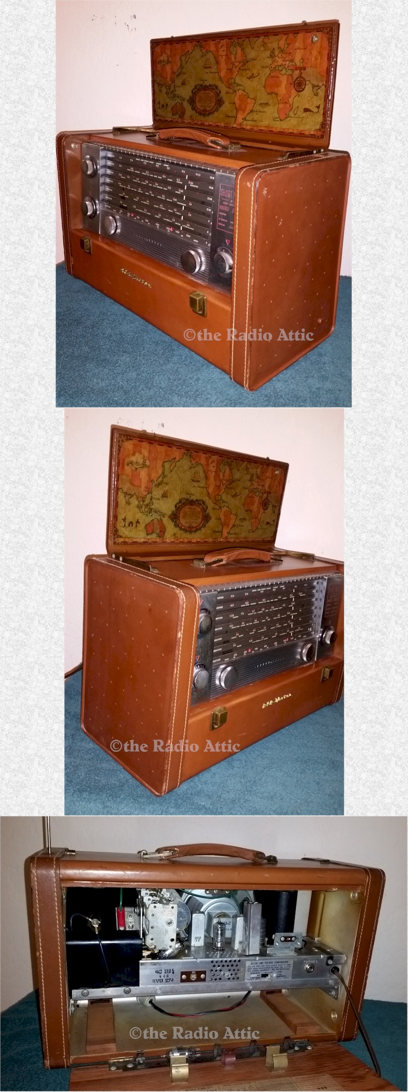 RCA 3-BX-671 Leather Portable (1954)