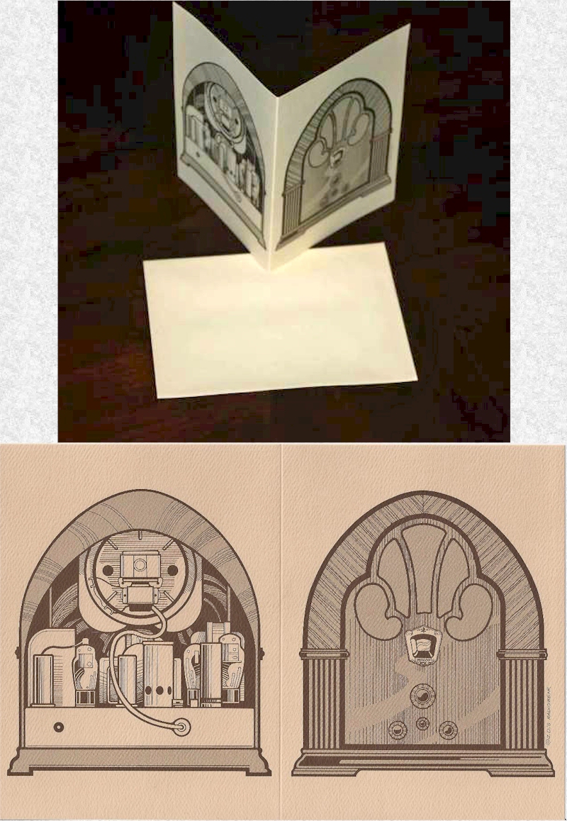Collector Notecards w/Philco 90