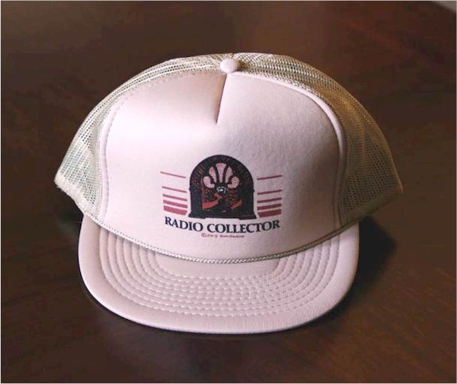 Radio Collector Trucker's Cap