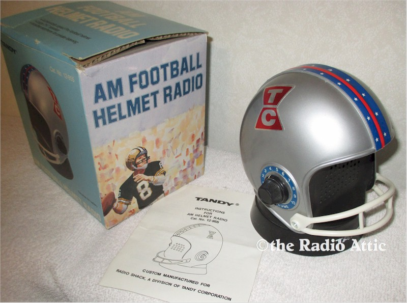 TCU Horned Frogs Football Helmet Radio