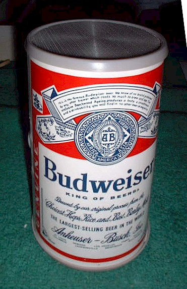 Budweiser Novelty AM Radio