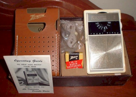 Zenith Royal 50 Model L Set (1962)