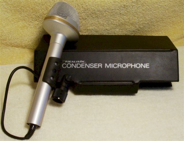 Realistic 33-919A Dual Pattern Stereo Microphone
