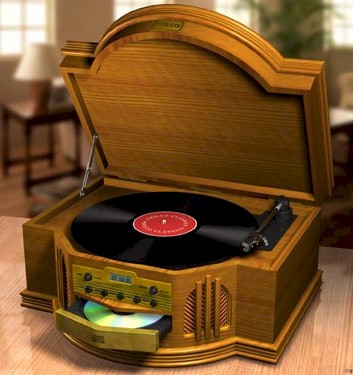 Philco Stereo Turntable/CD/Cassette Player