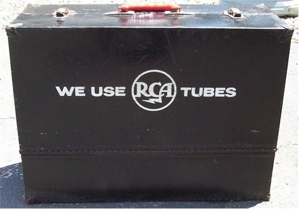 RCA Metal Tube Caddy