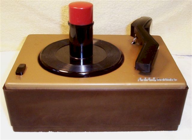 RCA Victor 45-J-2 Record Player (1948)
