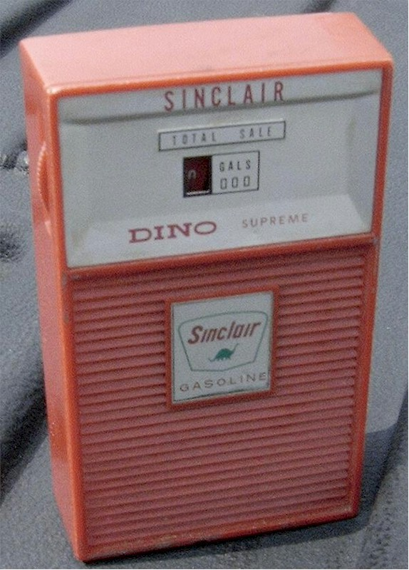 Sinclair Dino Supreme Gas Pump Transistor