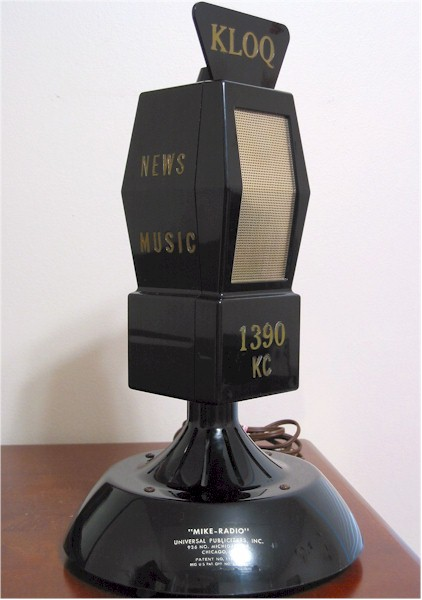 Microphone Tube Radio (1960s)