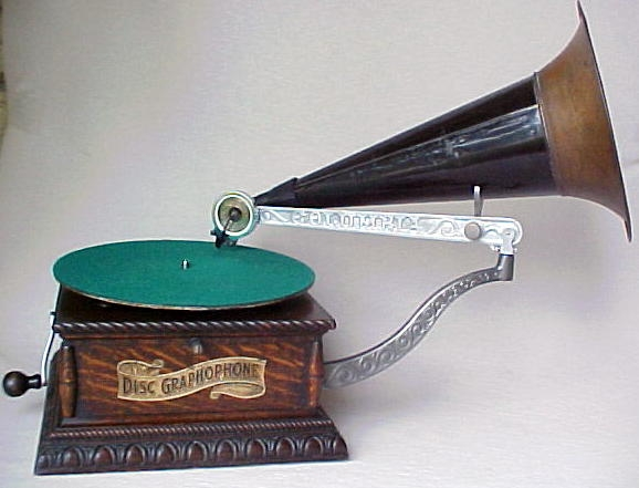 Columbia AJ Disc Phonograph