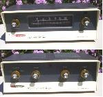 Heathkit AJ-31 FM Tuner and AA-161 Amplifier (1962)