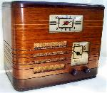 Philco 39-6173 Clock Radio (1939)