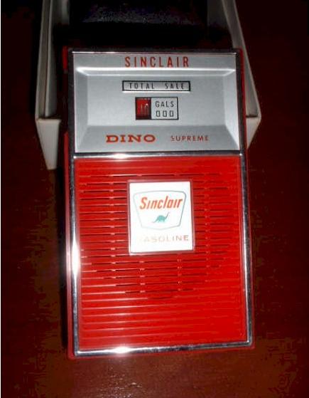 Sinclair Gas Pump Novelty Radio