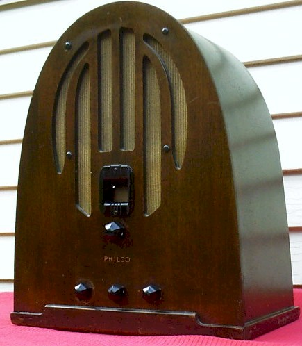 Philco 38 Cathedral (1936)