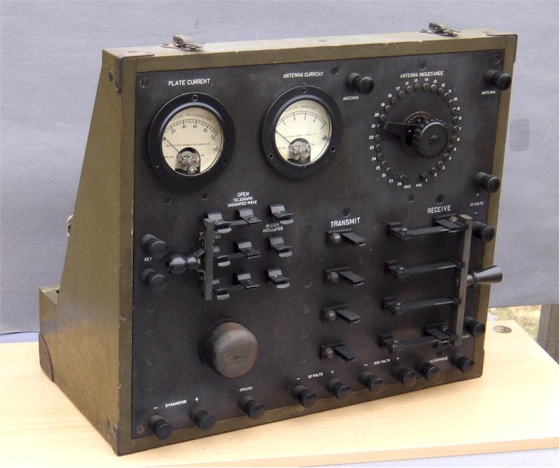 DeForest BC 89 WWI Transmitter