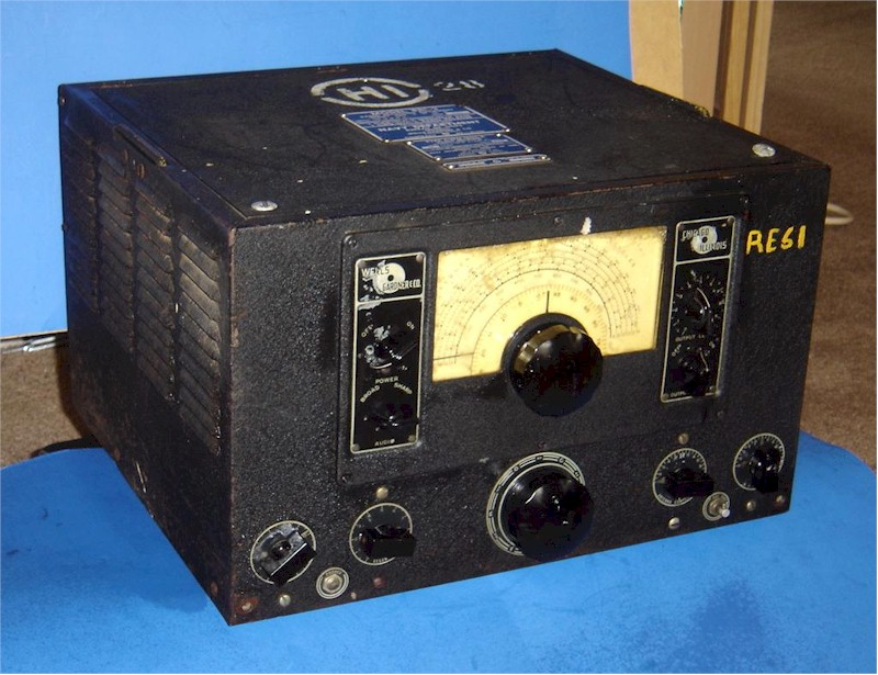 US Navy WWII Submarine Radio