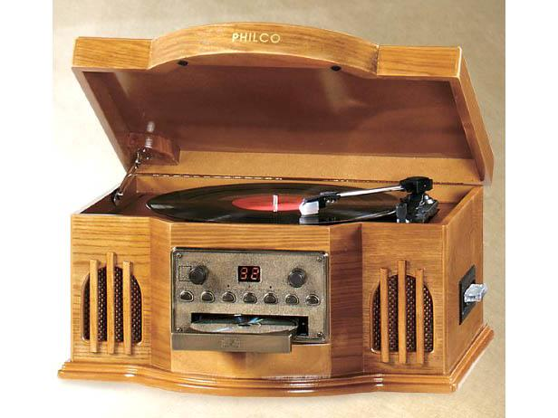 "Philco ""Capital"" Turntable Stereo System"