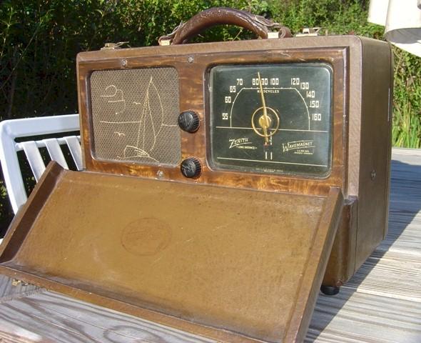 Zenith 6-G-601L Long Distance Radio