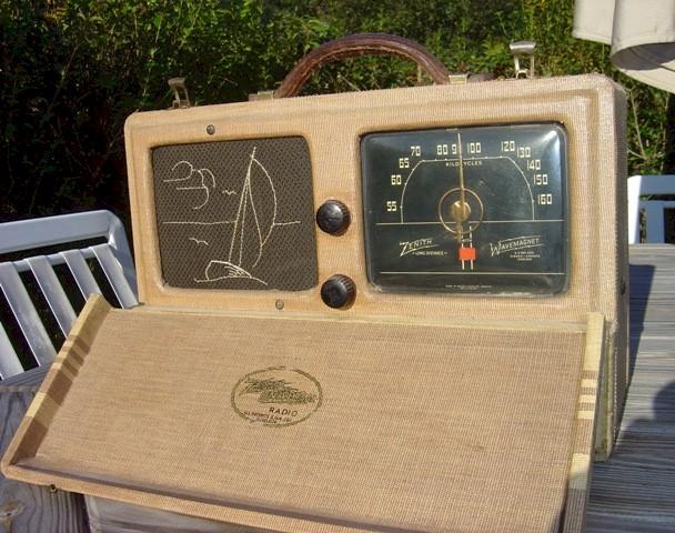 Zenith 6-G-601M Long Distance Radio