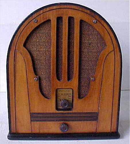 Philco 84B (Late) Cathedral