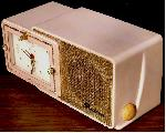 Bulova 100 Clock Radio (1957)