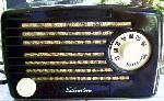 Silvertone 1 Metal Radio