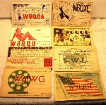 QSL Cards Set of 8