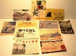 QSL Cards Set of 11