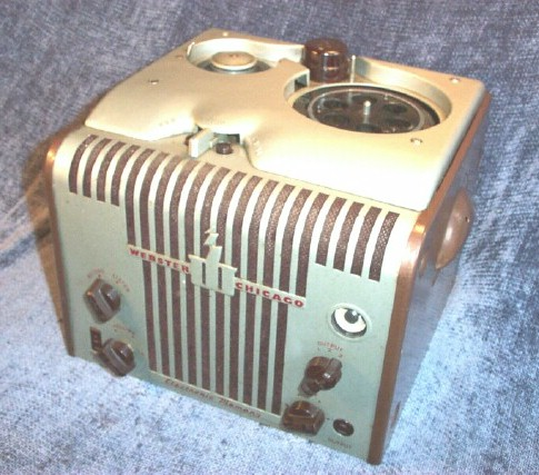 Webster Chicago 81-1 Wire Recorder