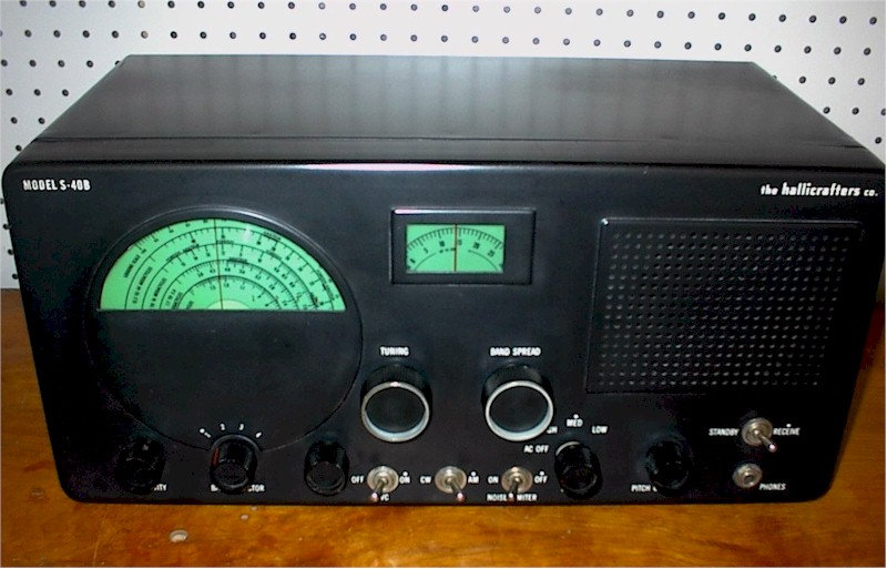 Hallicrafters S-40B Receiver (1950-55)