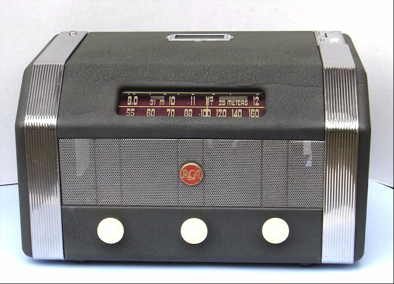 RCA Deco Coin Operated Radio