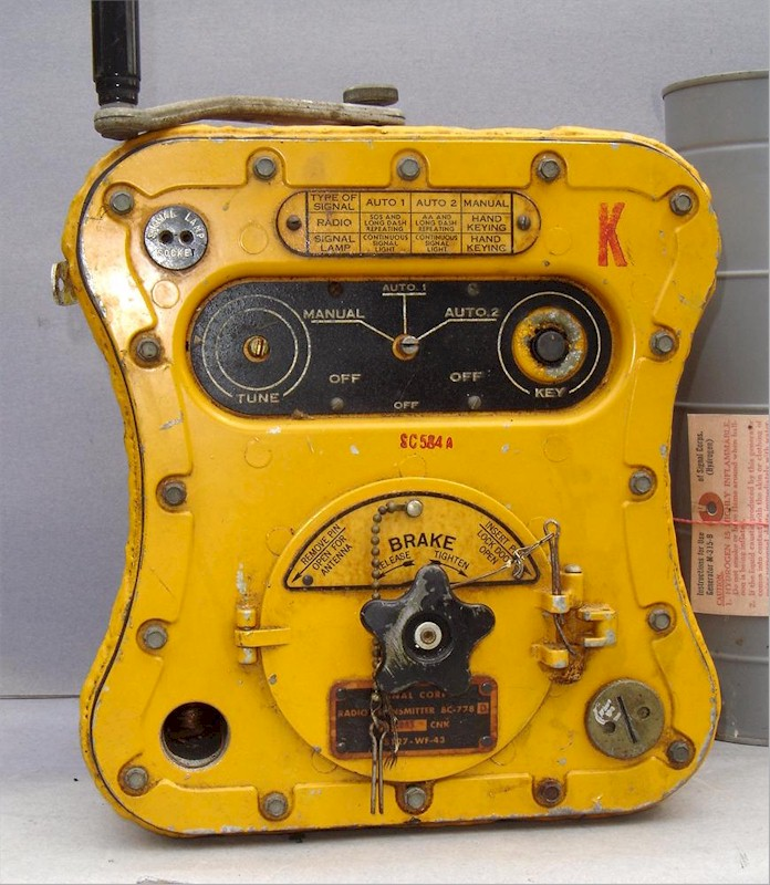 Signal Corps SCR 584-A Transmitter