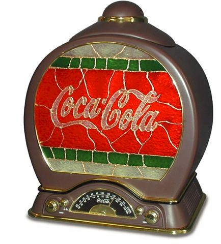 Coca-Cola Cookie Jar Radio 841.315