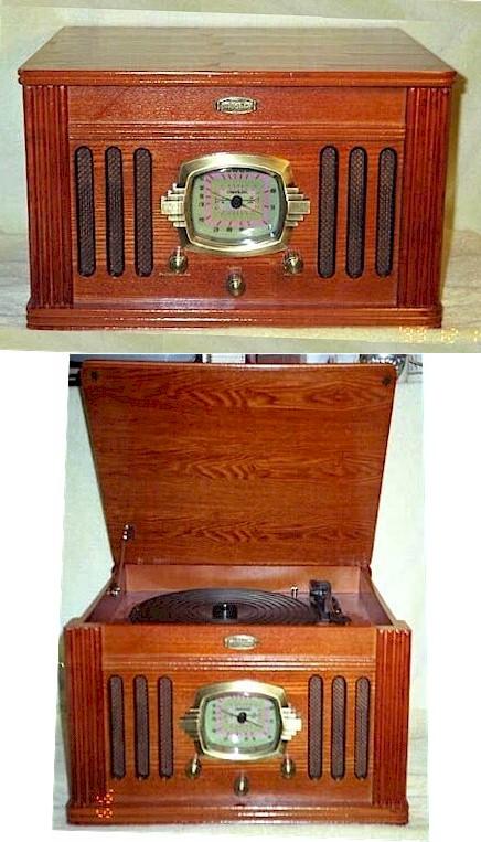 Crosley Radio/Phono/Cassette (40s era replica)