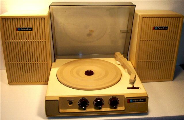 Fisher-Price 49B8 Record Player