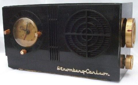 Stromberg-Carlson C-3 Clock Radio (1955)
