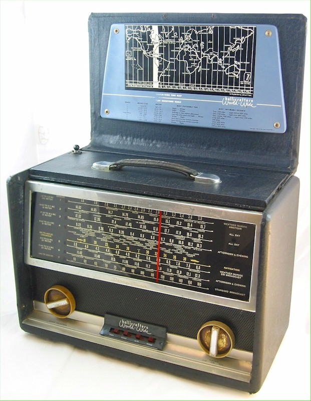 Hallicrafters TW-1000 Multiband Portable (1953)