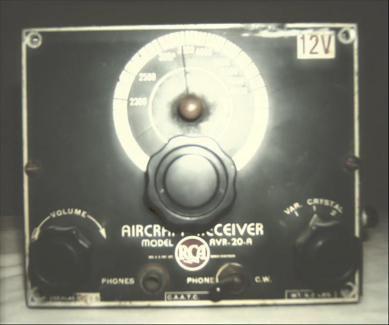 RCA AVR-20-A Aircraft Receiver