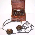Crystal Radio Set & Headset