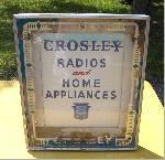 Crosley Radios and Appliances Sign