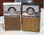 Motorola Pocket Radios (two of %26#39;em!) (1960s)