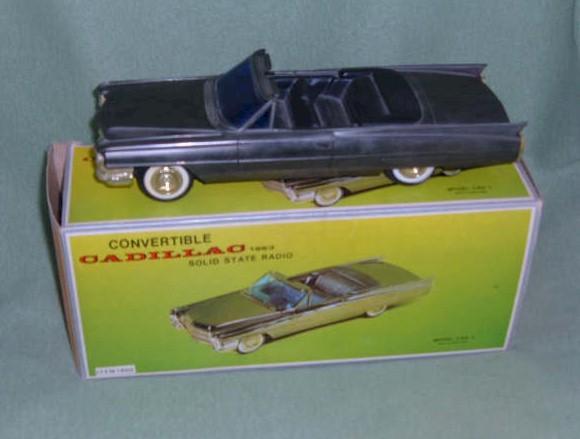 Cadillac (1963) Car Radio