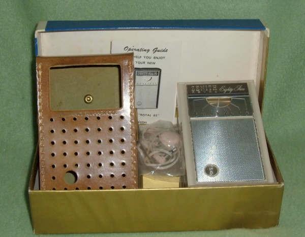 Zenith Royal 85 Complete Set (1966)