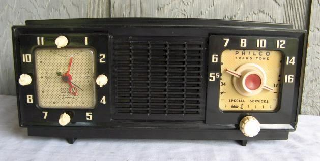 Philco 53-701 Clock Radio