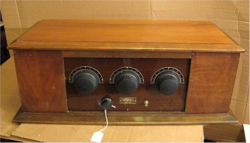 World Radio Corp. Type D-5 (1927)
