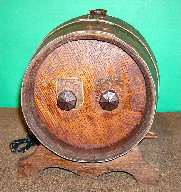 National Pfanstiel Radio Keg (1938)