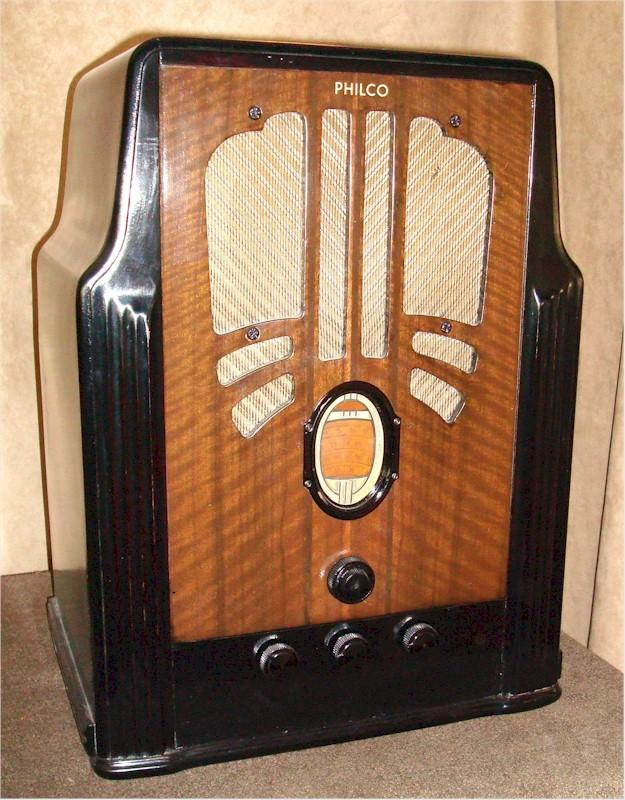 Philco 635B Tombstone (1936)
